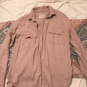 American Eagle Pink Flannel